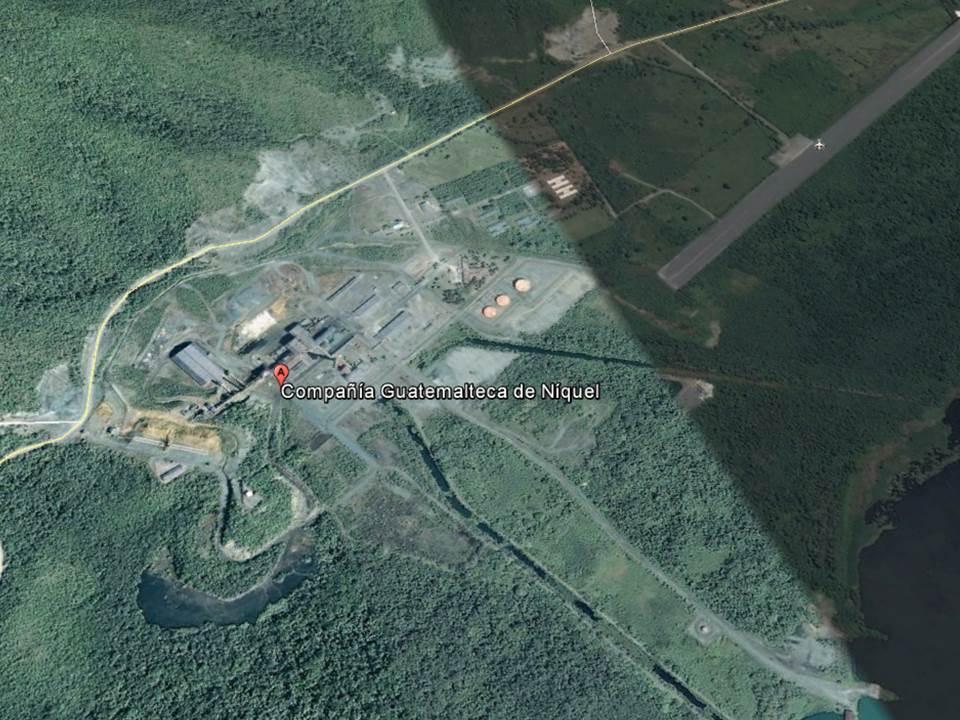 Trabajador queda soterrado por deslave en empresa de níquel de El Estor