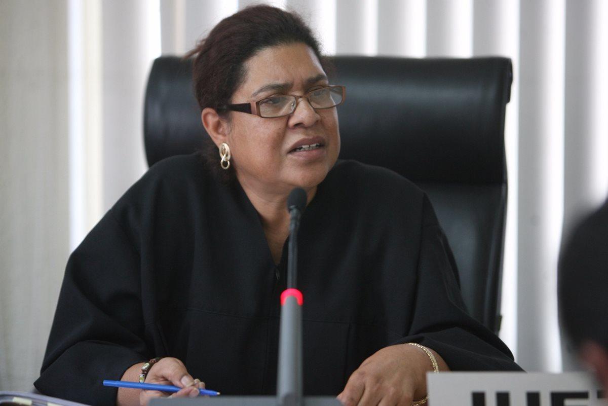 Judith Secaida, jueza quinta penal tendrá a cargo las pesquisas contra la diputada Nineth Montenegro. (Foto: Hemeroteca PL).