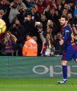 Leo Messi es de los elementos que siempre aportan al equipo en cada juego. (Foto Prensa Libre: EFE)