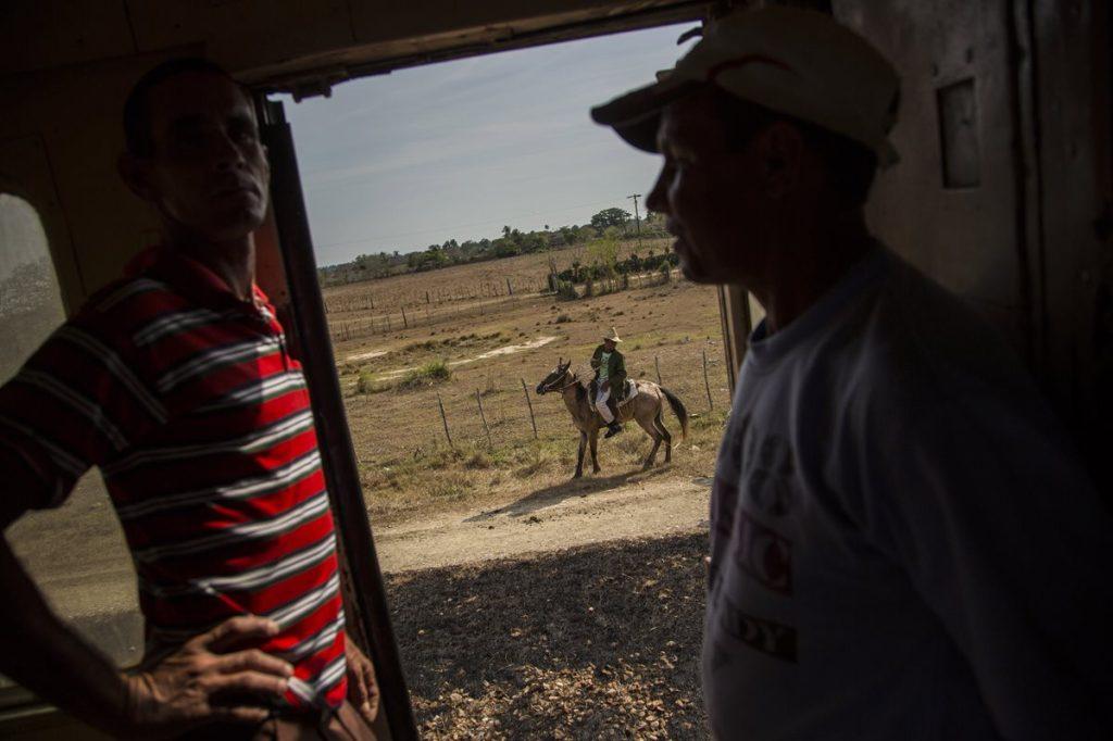 El tren, el medio de transporte más lento de Cuba.