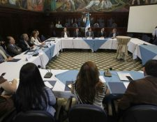 Las comisiones de trabajo del Congreso tuvieron poco avance en su mandato de dictaminar iniciativas de ley. (Foto Prensa Libre: Hemeroteca PL)