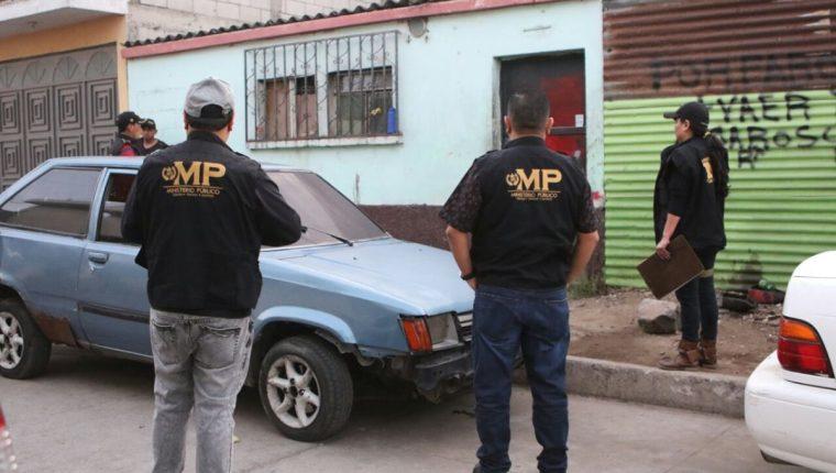 El MP y la PNC realizan 69 allanamientos en siete departamentos para capturar a supuestos extorsionistas. (Foto Prensa Libre: MP)