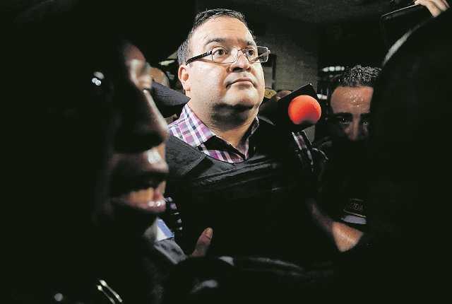 El exgobernador de Veracruz, Javier Duarte será extraditado a México el próximo lunes. (Foto Prensa Libre: Hemeroteca PL)