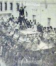 Procesión de Jesús del Rescate, el Miércoles Santo de 1967. Foto: Hemeroteca PL