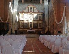En el Hotel Casa Santo Domingo de Antigua Guatemala se realizaron ayer los últimos preparativos para recibir a empresarios y a los Jefes de Estado esta semana. (Foto Prensa Libre: Érick Ávila)