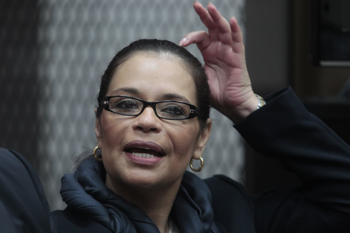 La exvicepresidenta Roxana Baldetti. Foto Prensa Libre: Hemeroteca PL.