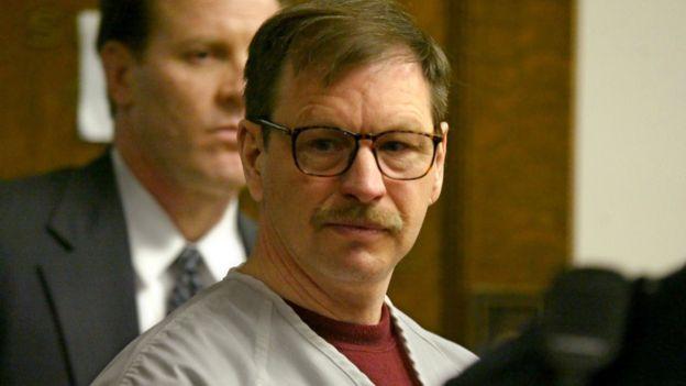 """Gary Ridgway, el """"asesino de Green River"""", se encuentra convicto por 49 asesinatos. GETTY IMAGES"""