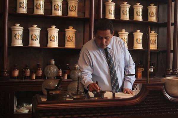Interior del Museo de la Farmacia de Guatemala, en Antigua (Foto Prensa Libre: Reproducción de Miguel López).