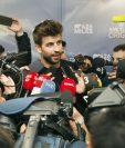 El defensa del Barcelona y de la selección española tendrá que pagar una serie de multas impuestas por la Federación de futbol. (Foto Prensa Libre: AFP)