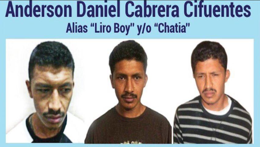 Anderson Daniel Cabrera Cifuentes, alias Liro Booy o Chatia, es presunto integrante de la pandilla Salvatrucha. (Foto Prensa Libre: HemerotecaPL)