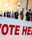 14% de quienes se abstuvieron en las elecciones de 2016 en Estados Unidos argumentaron que no podían acudir a votar por razones de trabajo, según un estudio del Centro de Investigaciones Pew. GETTY IMAGES