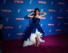 La cubano-estadounidense Camila Cabello, una de las principales artistas en el evento (Foto Prensa Libre: EFE).