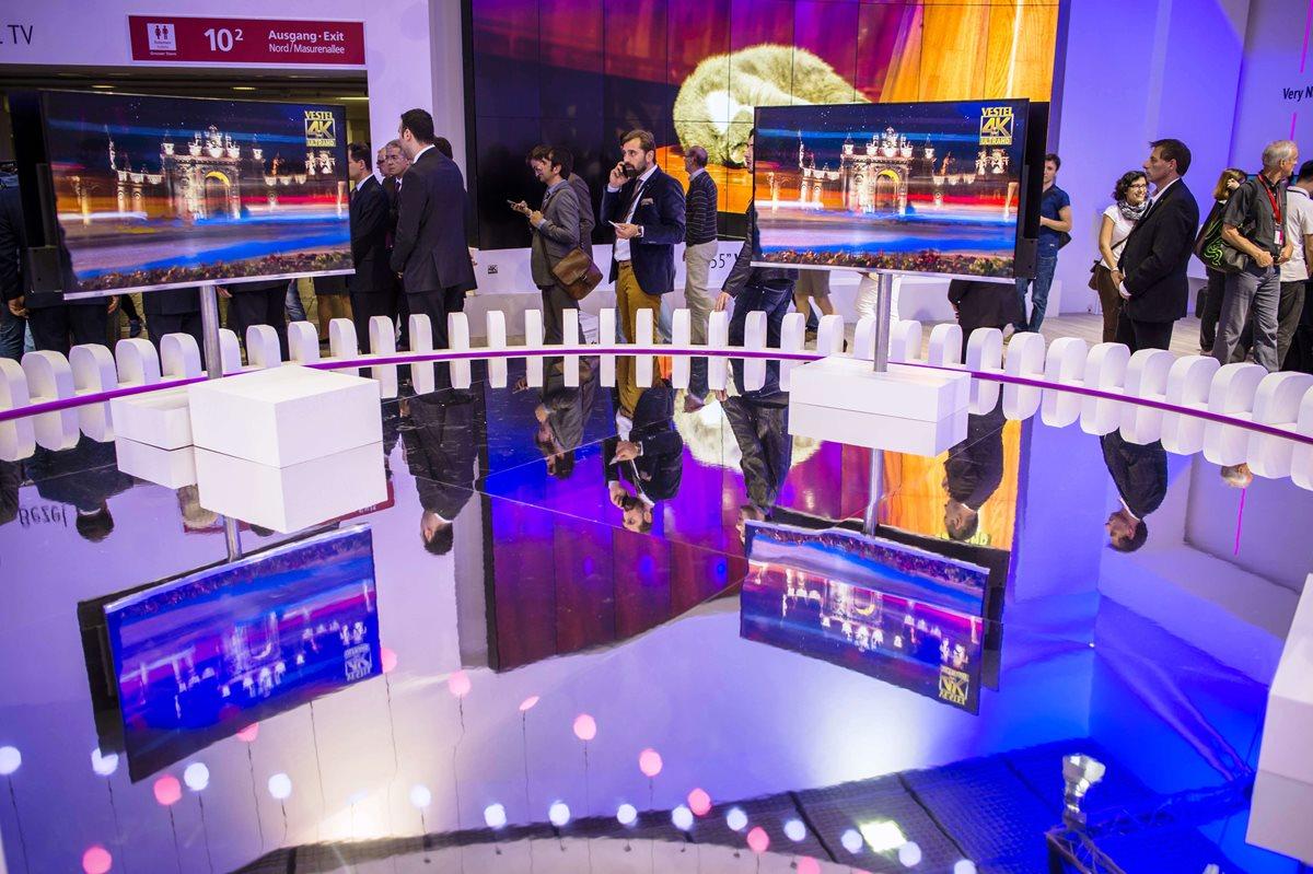 Abre la IFA berlinesa entre relojes inteligentes, ordenadores y frigoríficos