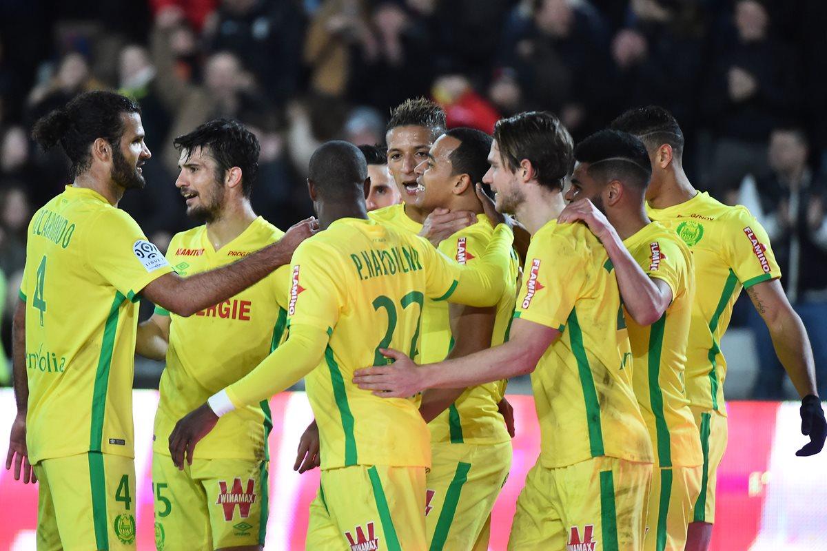 El Nantes vence 3-1 con goles del argentino Sala y el colombiano Pardo