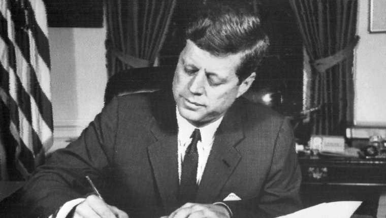 Causas del asesinato del expresidente de EE. UU. John Kennedy aún no se han establecido. (Foto Prensa Libre: AFP)