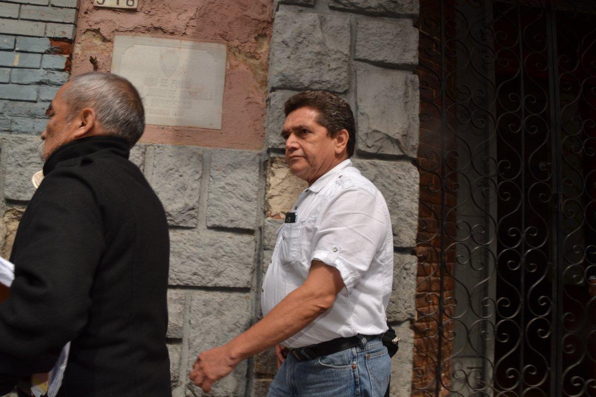 Joviel Acevedo busca apoyo en el Congreso para que se apruebe la ampliación presupuestaria con la cual se daría viabilidad al Pacto Colectivo. (Foto Prensa Libre: José Castro)