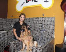 Love Grooming cuenta con cámaras para que los dueños vean cómo se trata a sus mascotas.(Foto Prensa Libre: Sandra Vi