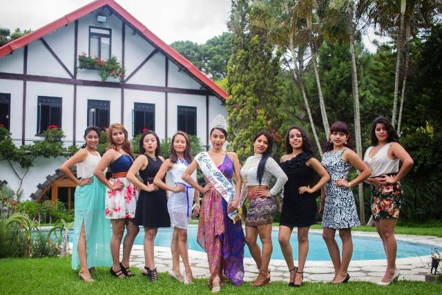 Conozca a las ocho candidatas a Señorita Flor de Agosto de Mixco