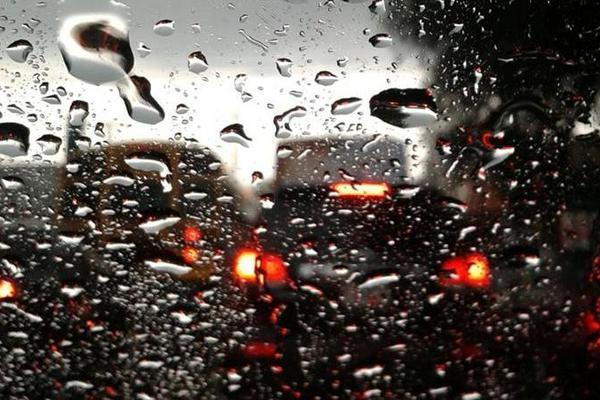 Lluvia será más intensa del centro al sur del país