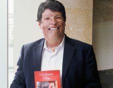 Irwing Sánchez, escritor y conferencista venezolano, no se dejó vencer por las adversidades y su testimonio inspira a muchas personas. (Foto Prensa Libre, Brenda Martínez)