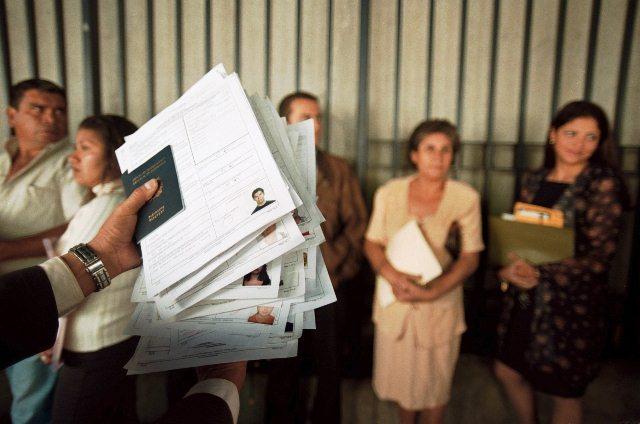 Estados Unidos alerta sobre falsas publicaciones sobre trámites para visas. (Foto Prensa Libre: Hemeroteca PL)