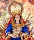 """La Virgen de los Remedios o de la """"O"""" lleva al Niño Jesús en un resplandor, lo cual evoca su pronta llegada. (Foto Prensa Libre: Hemeroteca PL)"""