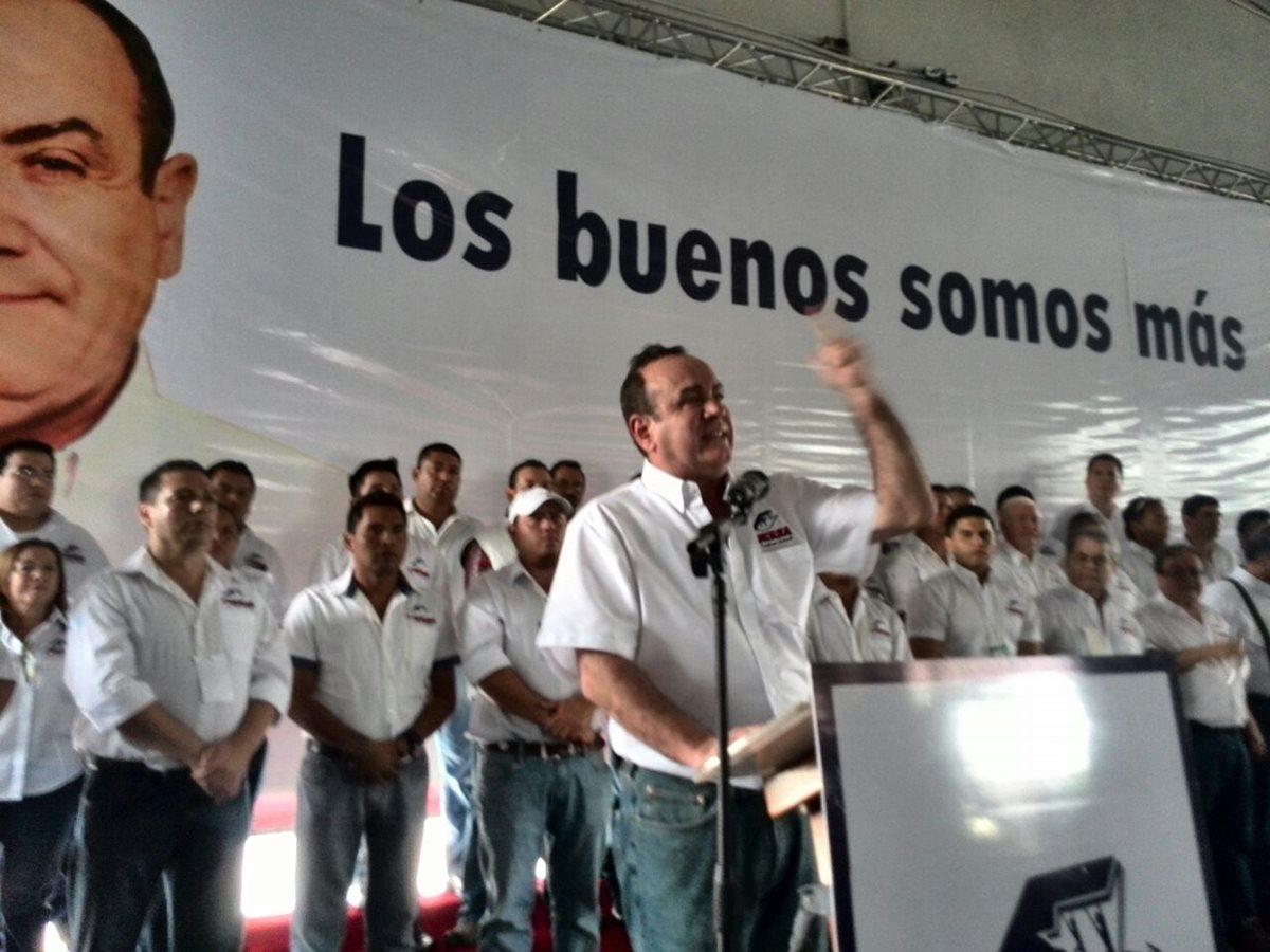 Alejandro Giammattei buscará la presidencia con Fuerza