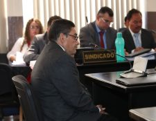 Nicolás García Fuentes, exdirector del Sistema Penitenciario, declaró en el proceso contra el abogado Benjamín Estrada por la fuga de la Patrona. (Foto Prensa Libre: Paulo Raquec)