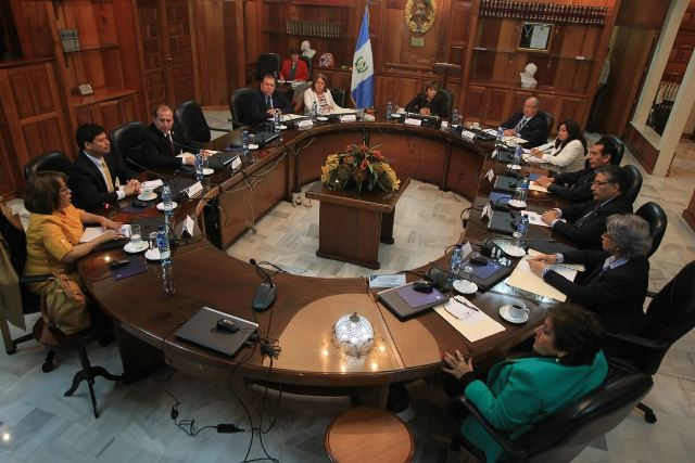 La Corte Suprema de Justicia dio trámite a tres antejuicios promovidos contra dos jueces y un diputado. (Foto Prensa Libre: Hemeroteca PL)