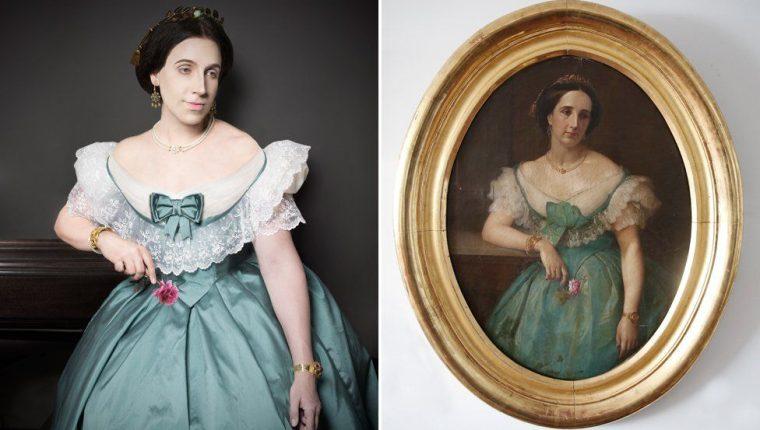 La tataratía Doña Benjamina Elespuru y Martinez de Pinillos.