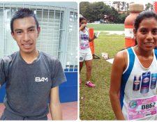 Alberto González y Merlín Chalí son los ganadores de la edición 35 de la Clásica ACD. (Foto Prensa Libre: Norvin Mendoza)