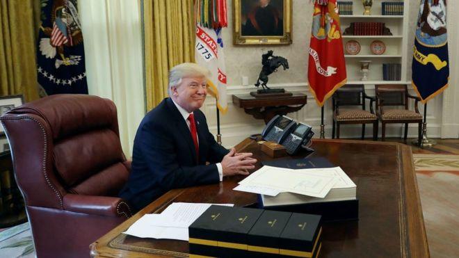 """La Casa Blanca ha descalificado las afirmaciones del libro del periodista Michael Wolff, que considera """"falsas y engañosas"""". GETTY IMAGES"""