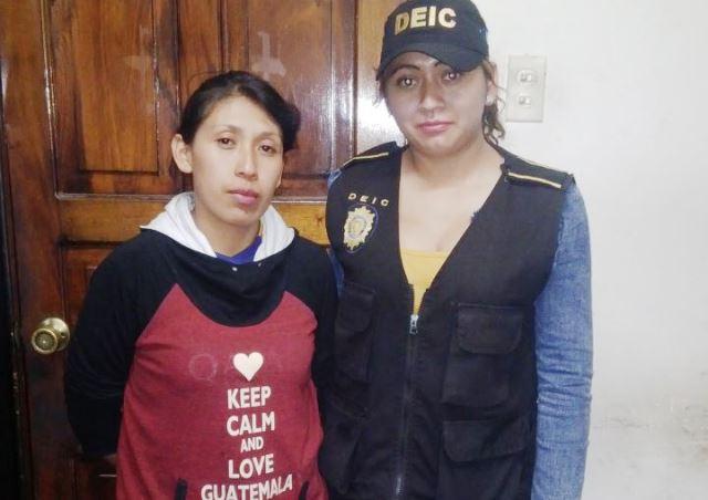 Capturada por la muerte de una fémina en Santiago Sacatepéquez