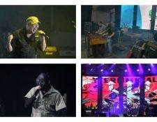 Las bandas más importantes del rock de Guatemala se reunieron en el Festival El Grito. (Foto Prensa Libre: Keneth Cruz)