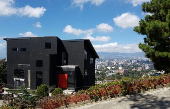 Casa que Juan Carlos Monzón tenía en residenciales Vista del Ángel. Foto Prensa Libre: MP.