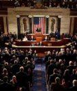 El Senado, de mayoría republicana, aprobo el texto de la reforma fiscal. (Foto Prensa Libre: AFP)