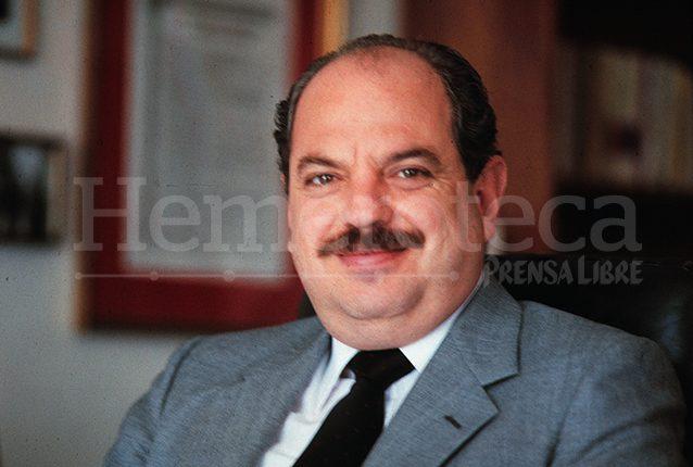 Jorge Serrano Elías, presidente de Guatemala de 1991 a 1993. (Foto: Hemeroteca PL)