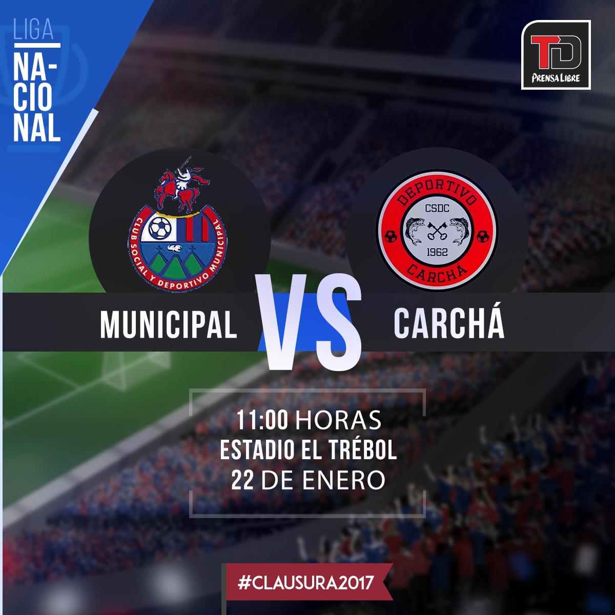 EN DIRECTO | Municipal vs. Carchá
