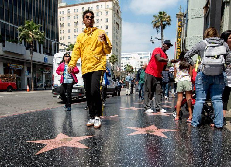 No, no busquen a Madonna en el Paseo de la Fama de Hollywood (Los Ángeles, California). La cantante no mostró gran interés por estar en él. GETTY IMAGES