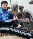 El marchista guatemalteco Érick Barrondo, ya se prepara para los Juegos Panamericanos de Toronto, 2015 y sus segundos Juegos Olímpicos. (Foto Prensa Libre: Hemeroteca PL)
