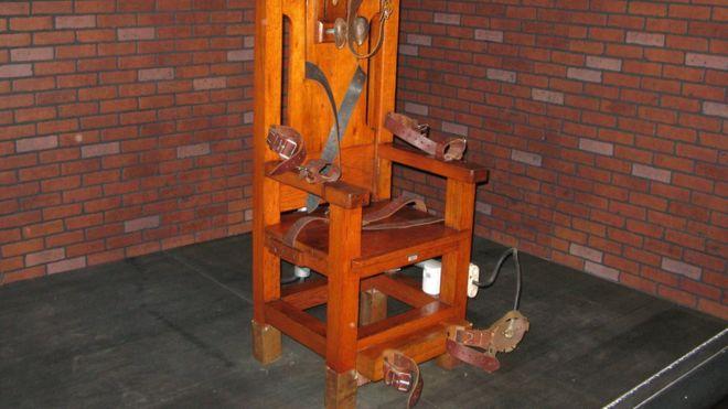 La silla eléctrica ha ido dejando de ser el principal método de ejecución en Estados Unidos. AFP