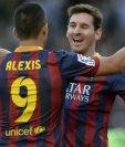 Lionel Messi y Alexis Sánchez fueron grandes socios en el ataque durante el paso del chileno en el FC Barcelona.