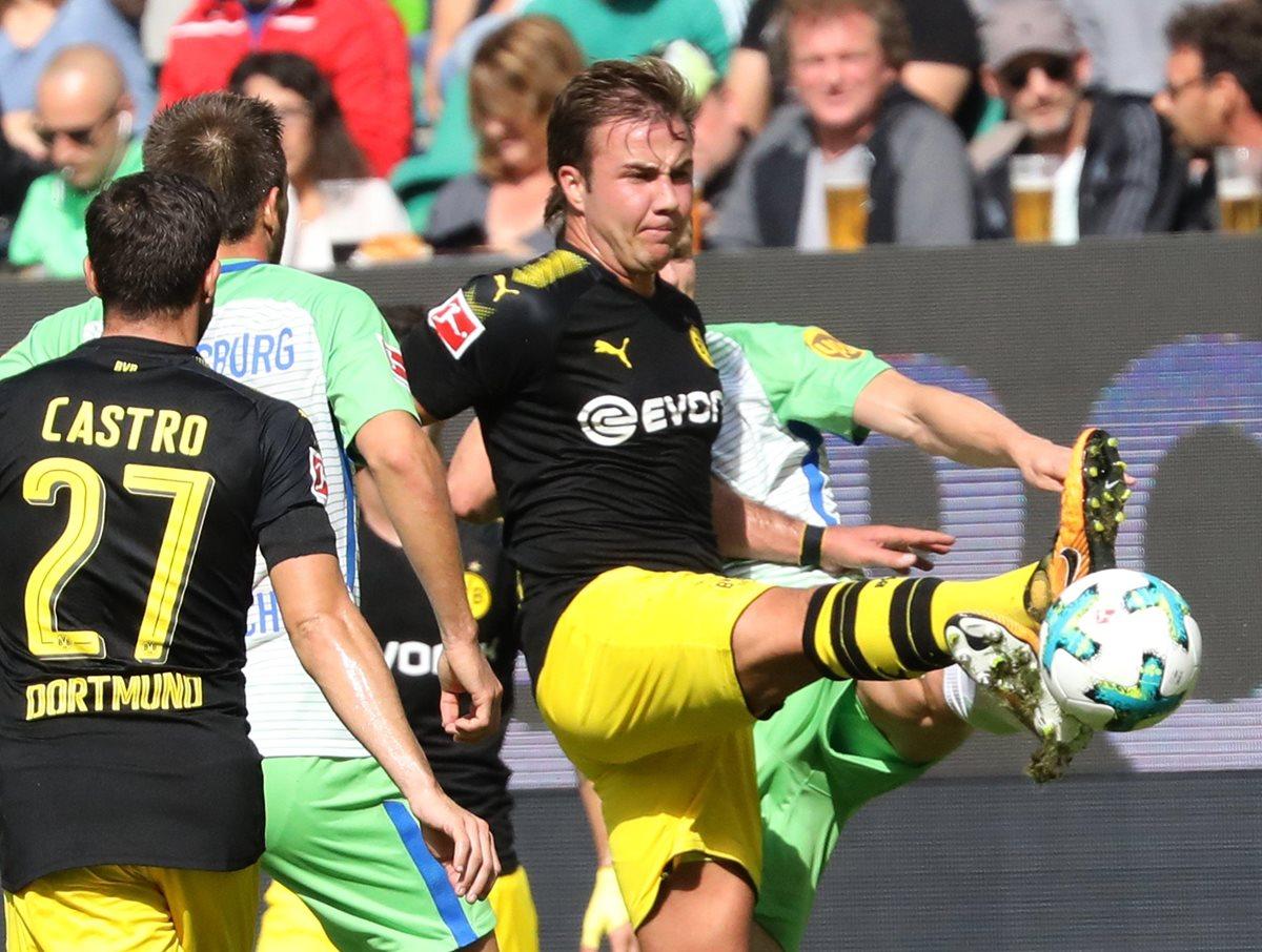 Götze regresa tras seis meses con una asistencia