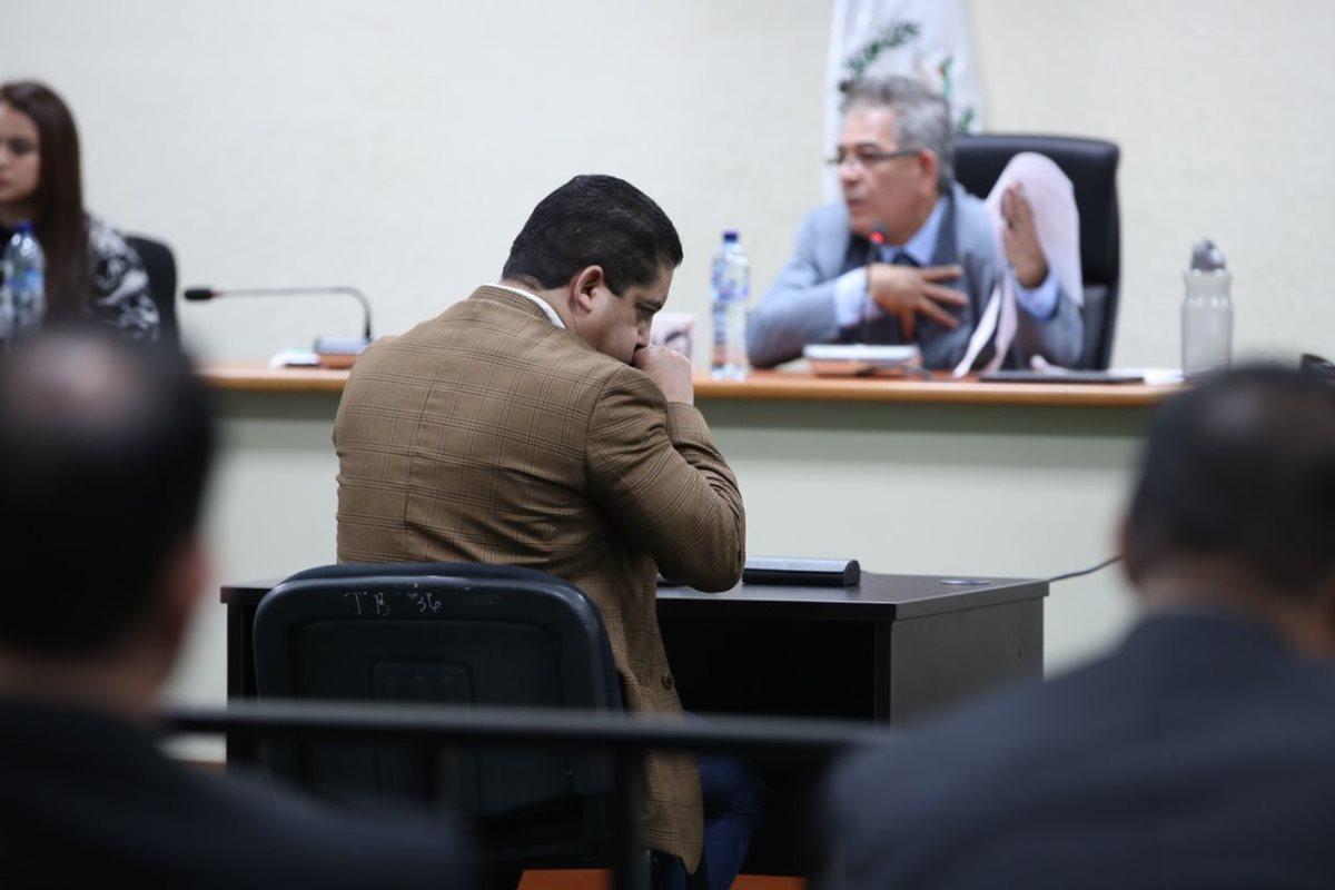"""Un abogado presentó una recusación contra el juez Gálvez, argumentando que busca """"elevar su perfil"""", en proceso de evaluación de candidatos a fiscal general. (Foto Prensa Libre: Paulo Raquec)"""