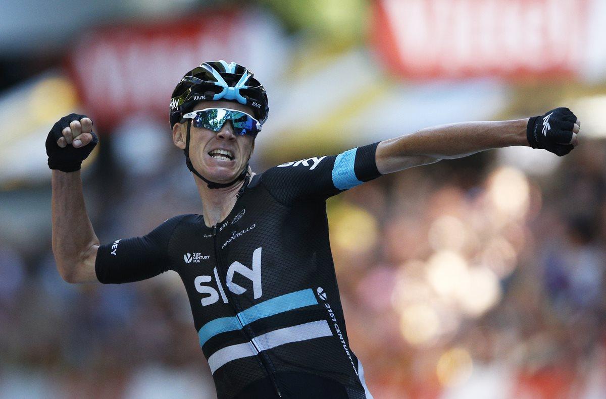 Froome gana la octava etapa del Tour y se coloca líder