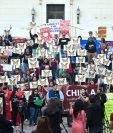 Los soñadores y activistas defensores del Daca participan en una manifestación en apoyo de una Ley de sueño limpio en Los Ángeles, California. (Foto Prensa Libre:AFP).