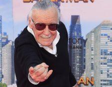 Stan Lee fue una pieza clave en la industria del entretenimiento (Foto Prensa Libre: EFE).