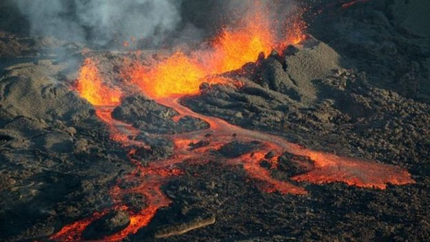 Los científicos creen que la extinción masiva más grande en la historia de la Tierra fue producida por intensa actividad volcánica hace casi un millón de años. AFP