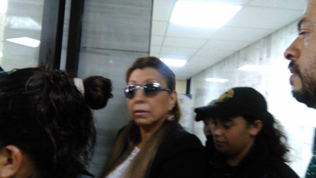 Anabella de León es investigada por supuestos actos de corrupción. (Foto Prensa Libre: Claudia Palma).