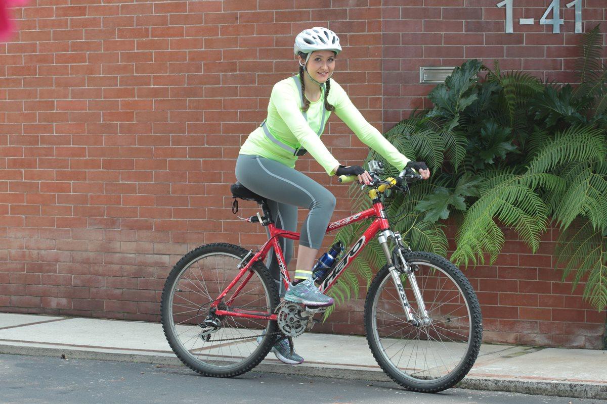 Manejar cicle fortalece los músculos y reduce la tensión